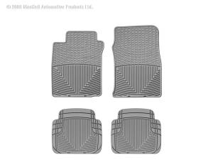 WeatherTech - WeatherTech W39GR-W50GR All Weather Floor Mats