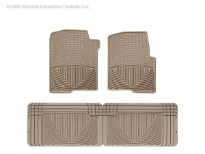 WeatherTech - WeatherTech W42TN-W25TN All Weather Floor Mats