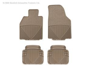 WeatherTech - WeatherTech W57TN-W50TN All Weather Floor Mats