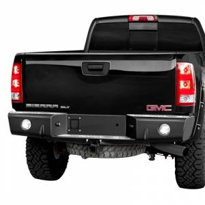 Trail Ready - Trail Ready 68000 Rear Bumper with D-Ring Tabs GMC Sierra 2500HD/3500 2011-2014
