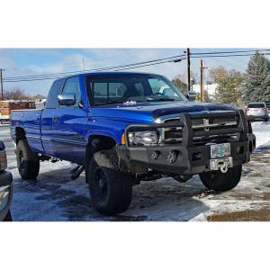 Trail Ready - Trail Ready 11301G Winch Front Bumper with Full Guard Dodge Ram 1500 Sport Front Bumper 1999-2001