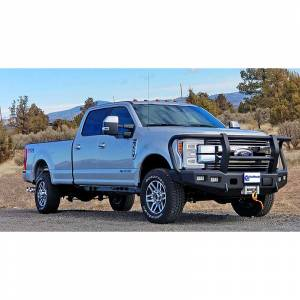 Trail Ready - Trail Ready 12315G Winch Front Bumper with Full Guard Ford F250/F350 2011-2016