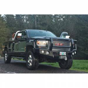 Trail Ready - Trail Ready 10850G Winch Front Bumper with Full Guard GMC Sierra 2500/3500HD 2011-2014