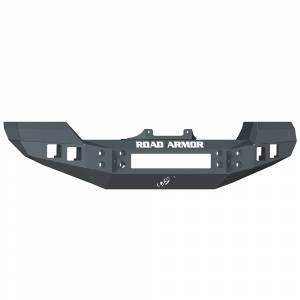 Road Armor - Road Armor 512R0B Front Bumper with Square Light Holes Jeep Wrangler JK 2007-2016