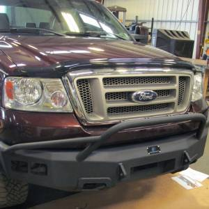 Hammerhead Bumpers - Hammerhead 600-56-0124 Winch Front Bumper with Pre-Runner Guard Ford F150 2004-2008