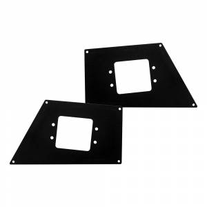 Go Rhino - Go Rhino 241731T BR10 Light Plates - Pair