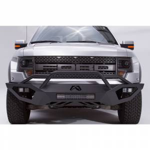 Fab Fours - Fab Fours FF10-D1962-1 Vengeance Front Bumper with Pre-Runner Ford Raptor 2010-2014