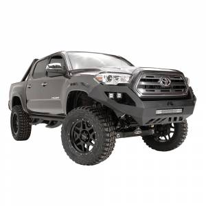 Fab Fours - Fab Fours TT16-D3651-1 Vengeance Front Bumper with No Guard Toyota Tacoma 2016-2017