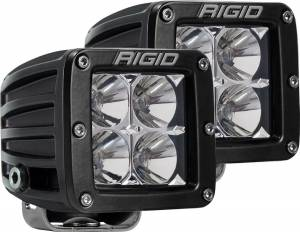 Rigid Industries - Rigid Industries 202113 D-Series Pro Flood Lights - Pair