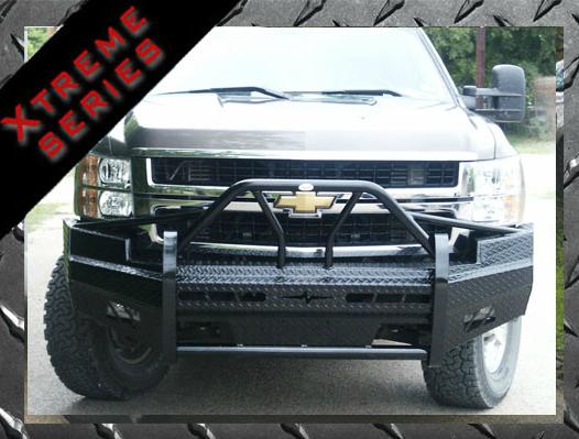 Frontier Gear - Frontier 600-20-7009 Xtreme Front Bumper Chevy Silverado 1500 2007-2013
