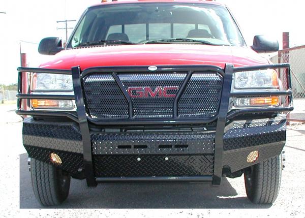 Frontier Gear - Frontier 300-30-3005 Front Bumper GMC Sierra 2500HD/3500 2003-2006