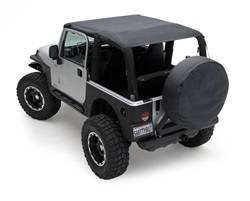 Smittybilt - Smittybilt 93635 Extended Top Diamond Black