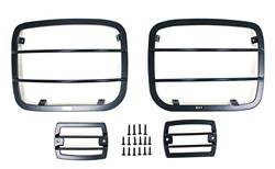 Smittybilt - Smittybilt 5659 Euro Headlight Guard