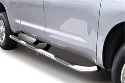 Go Rhino - Go Rhino 61090PS 6000 Series SideSteps One Piece Chevrolet Silverado 1500 LD (Classic) 2014-2019
