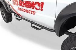 Go Rhino - Go Rhino D24044PS Dominator D2 SideSteps Cab Length Chevrolet Silverado 2500HD/3500HD 2015-2019