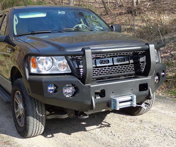 Ford Expedition 2008 For Sale: Trail Ready 12200G Winch Front Bumper With Full Guard Ford