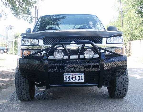 Frontier Gear - Frontier 600-20-3009 Xtreme Front Bumper Chevy Silverado 1500 2003-2006