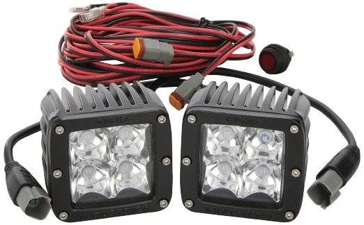 Rigid Industries - Rigid Industries 20211 Dually LED Flood Light Pair DLYFLDWSET