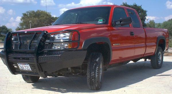 Frontier Gear - Frontier Gear 300-20-3009 Front Bumper Chevy Silverado 1500/1500HD/2500LD 2003-2006