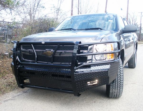 Frontier Gear - Frontier 300-21-1005 Front Bumper Chevy Silverado 2500HD/3500 2011-2014