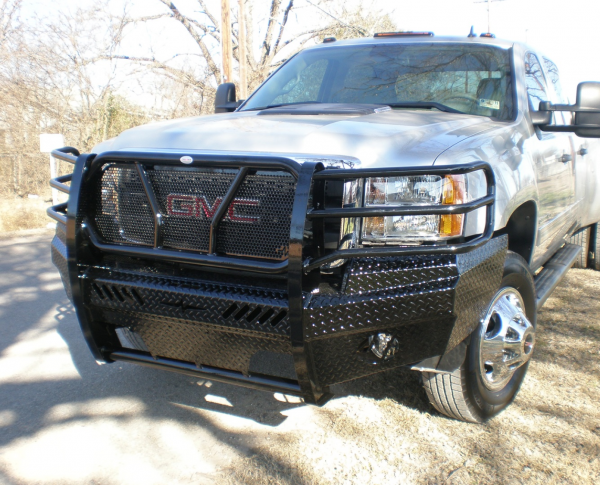 Frontier Gear - Frontier 300-31-1005 Front Bumper GMC Sierra 2500HD/3500 2011-2014