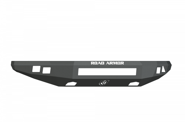 Road Armor - Road Armor 614R0B-NW Front Stealth Non-Winch Bumper with Square Light Holes Ford Raptor 2010-2014