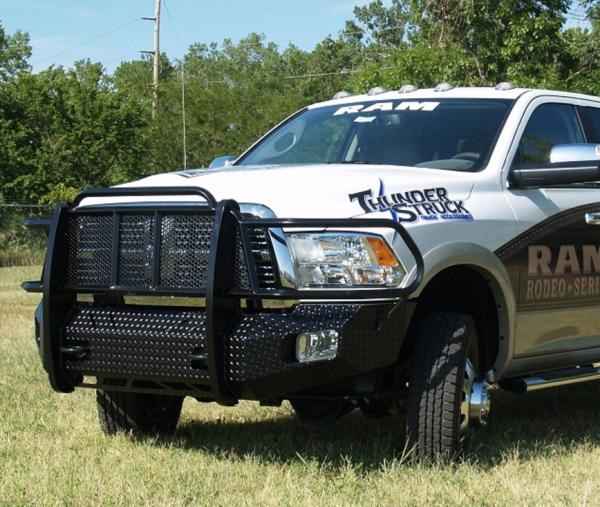 Star Armor Kit 2002 2009 Ram Quad Cab: Thunderstruck DLD09-200 Elite Front Bumper 2009-2012 Dodge