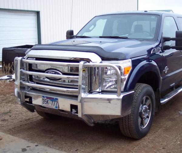 truck defender aluminum front bumper ford ff super duty
