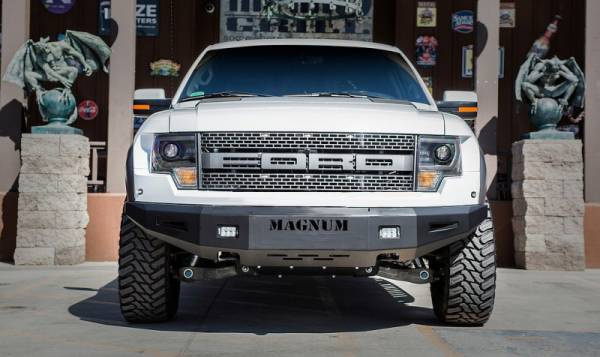 ICI Innovative Creations - ICI FBM51FDN Front Bumper Ford F150 Raptor 2010-2014 No Winch *BARE STEEL*