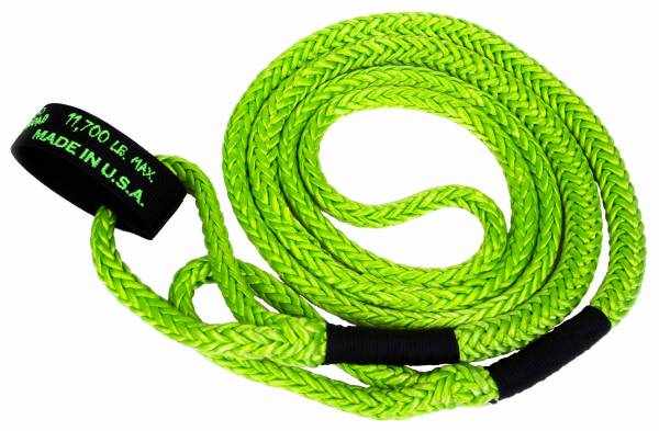"VooDoo Offroad - VooDoo Offroad 1300004 1/2"" x 16' UTV Kinetic Recovery Rope Green"