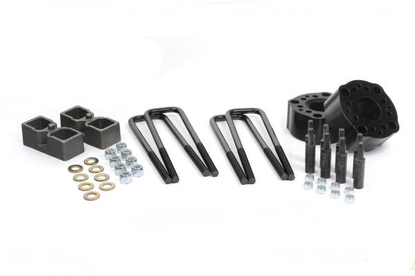 "Daystar - Daystar KT09131BK 3"" Lift Rear Lift Blocks with U-Bolts Toyota Tundra 2007-2017"