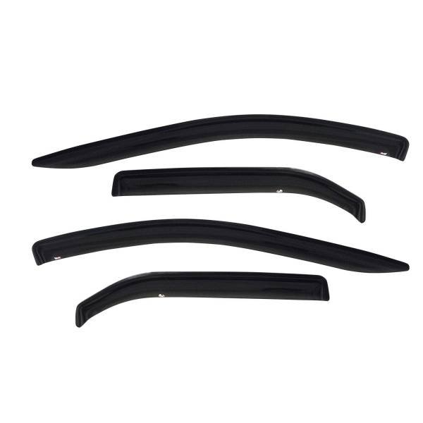 Westin - Westin 72-88494 Tape On Wind Deflector 4pc Toyota Tundra Access Cab Extended Cab 2000-2006