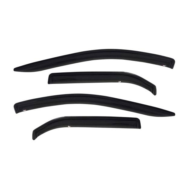 Westin - Westin 72-88422 Tape On Wind Deflector 4pc Toyota Tundra Double Cab 2004-2006
