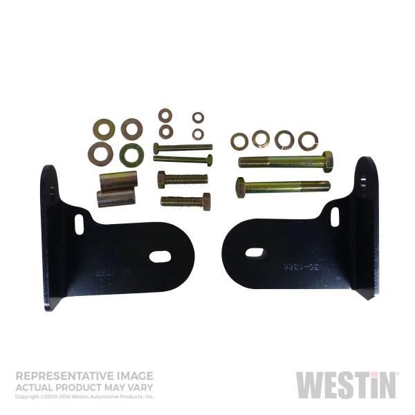 Westin - Westin 30-1345 Safari Bull Bar Mount Kit Chevrolet/GMC/Buick/Isuzu/Oldsmobile Rainier 2004-2007 and Trailblazer 2002-2009 and Envoy 2002-2008 and Ascender 2003-2008 and Bravada 2002-2004