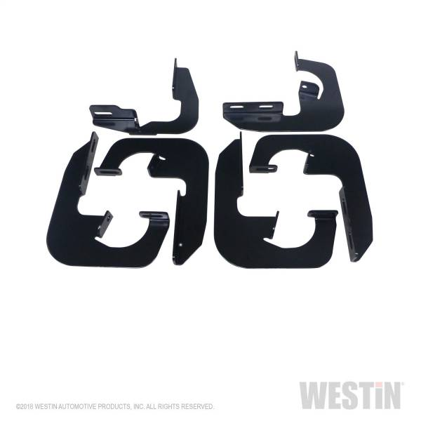 Westin - Westin 27-1745 Running Board Mount Kit Chevrolet/GMC Chevy Silverado and GMC Sierra 1500 Ext Cab 2007-2013 and Chevy Silverado and GMC Sierra 2500HD/3500HD Ext Cab 2008-2014