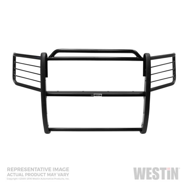 Westin - Westin 40-0125 Sportsman Grille Guard Jeep Gr and Cherokee Laredo 1999-2004 and Gr and Cherokee Limited 1999-2003