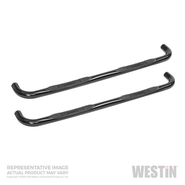 Westin - Westin 23-2135 E-Series 3 Nerf Step Bars Buick/Chevrolet/GMC/Isuzu/Oldsmobile Rainier 2004-2007 and Trailblazer 2002-2009 and Envoy 2002-2009 and Ascender 5 Passenger 2003-2008 and Bravada 4Dr 2002-2004