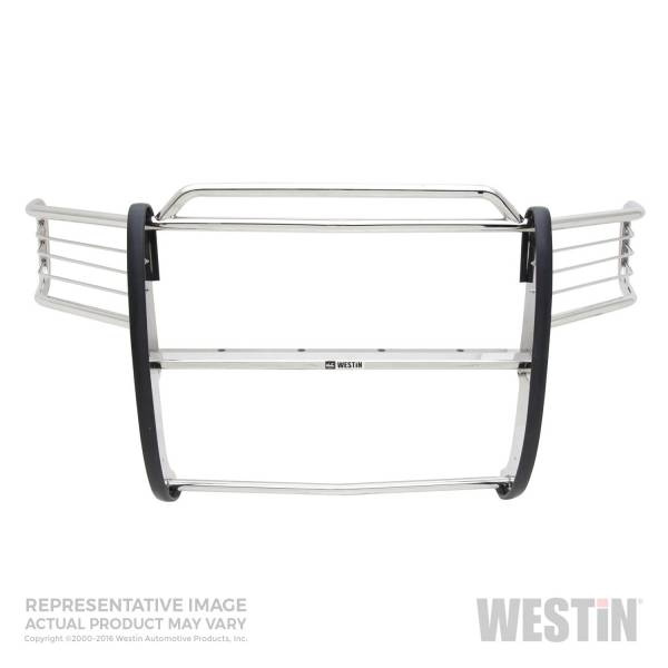 Westin - Westin 45-1170 Sportsman Grille Guard Chevrolet Silverado 'Classic' 1500LD 2003-2007 and Avalanche w/ out Cladding 2003-2006