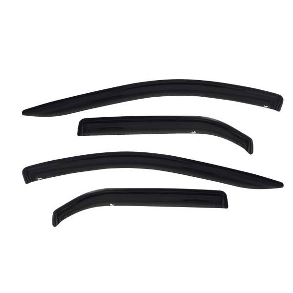 Westin - Westin 72-69496 Tape On Wind Deflector 4pc Infiniti/Nissan QX56 2004-2010 and Armada 2004-2015