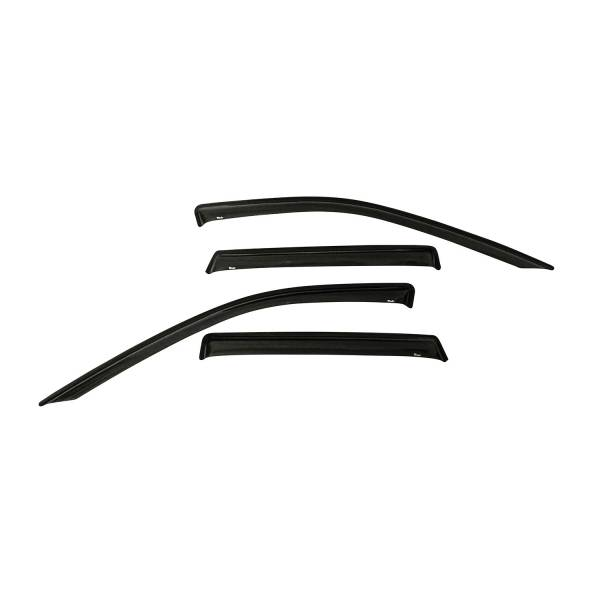 Westin - Westin 72-51490 Tape On Wind Deflector 4pc Jeep Gr and Cherokee 2011-2020