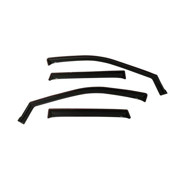 Westin - Westin 72-51487 In Channel Wind Deflector 4pc Jeep Gr and Cherokee 2011-2020