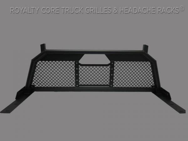 Royalty Core - Royalty Core 15311 Ford Superduty F-250 F-350 F-450 2017-2020 RC88 Headache Rack with Diamond Crimp Mesh