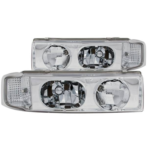Anzo USA - Anzo USA 111001 Crystal Headlight Set