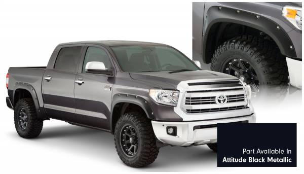 Bushwacker - Bushwacker 30918-43 Pocket Style Painted Fender Flares