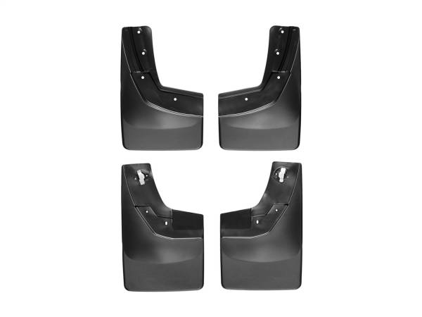 WeatherTech - WeatherTech 110035-120035 MudFlap No-Drill DigitalFit MudFlap Kit