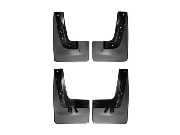 WeatherTech - WeatherTech 110043-120043 MudFlap No-Drill DigitalFit MudFlap Kit