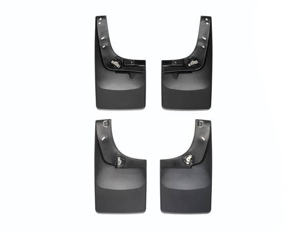 WeatherTech - WeatherTech 110012-120008 MudFlap No-Drill DigitalFit MudFlap Kit