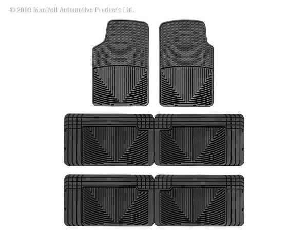 WeatherTech - WeatherTech W3-W25-W25 All Weather Floor Mats