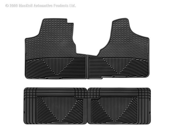 WeatherTech - WeatherTech W16-W25 All Weather Floor Mats