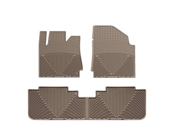 WeatherTech - WeatherTech W191TN-W192TN All Weather Floor Mats
